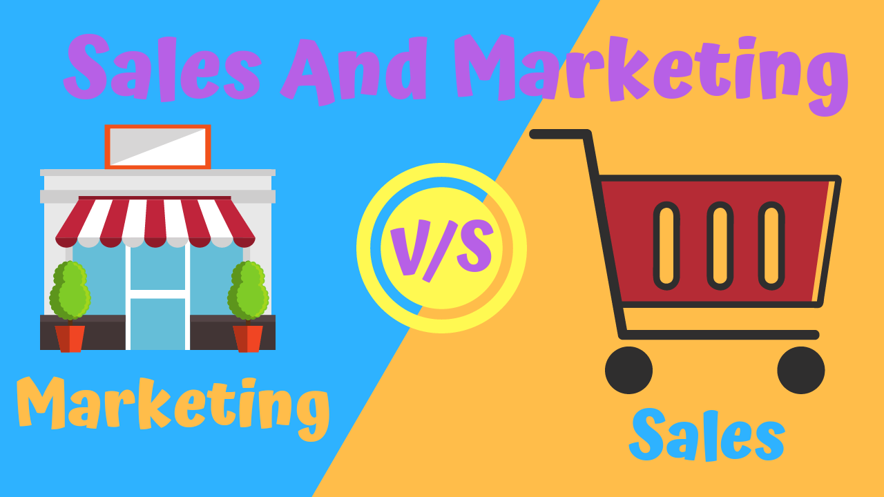 Difference Between Sales vs Marketing