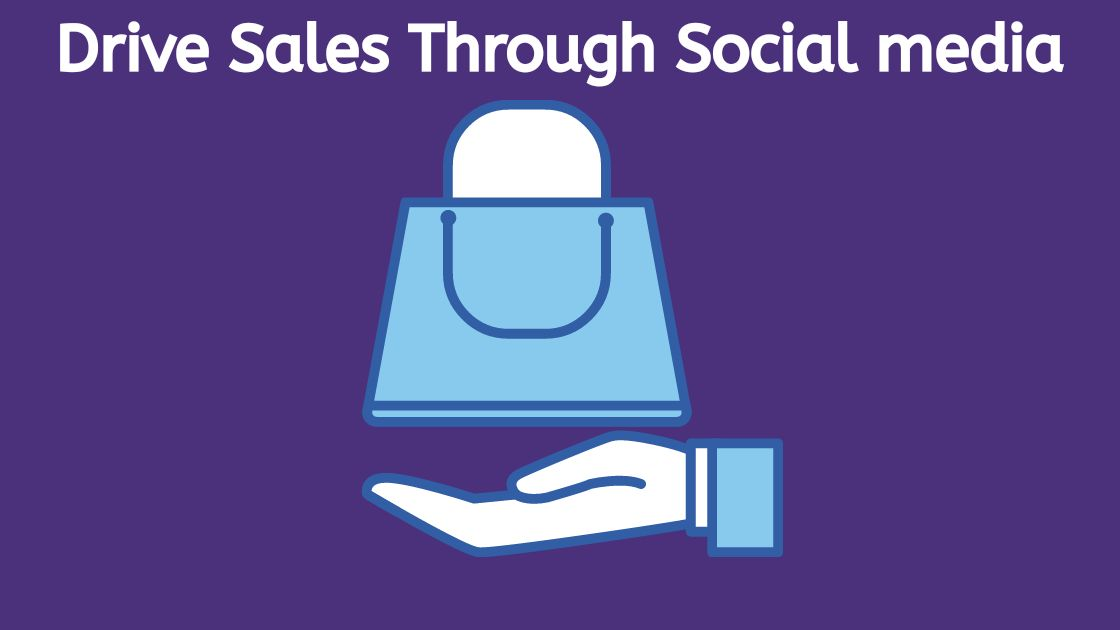 How to drive sales through social media?