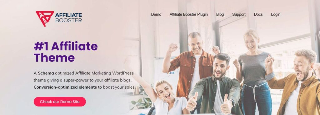 affiliate booster plugin and theme
