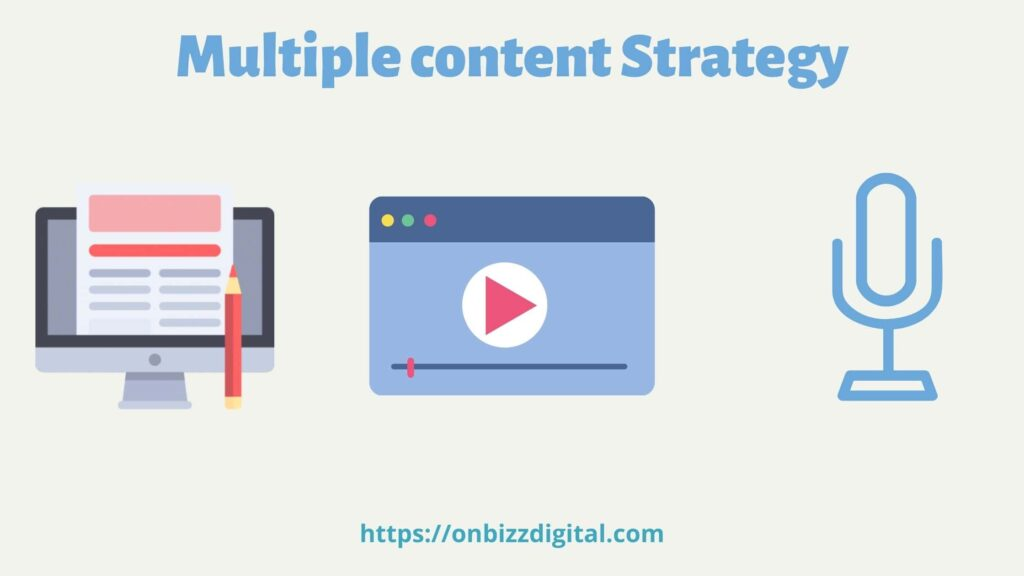 multiple content strategy